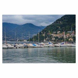 'Italian Harbor' Coastal Decorative Doormat