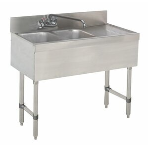 Free Standing Service Utility Sink With Faucet