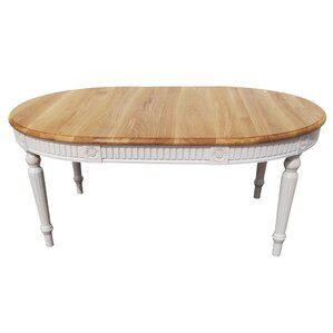 Felicien Oval Solid Wood Dining Table by One Allium Way
