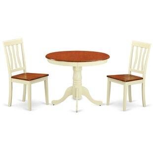 antique white dining room set. Appleridge Antique 3 Piece Dining Set White Room L