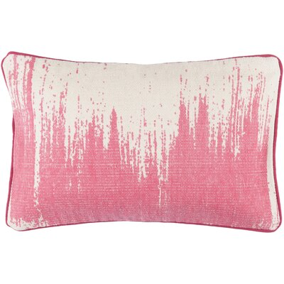 Brayden Studio Aeneas Throw Pillow Color: Hot Pink
