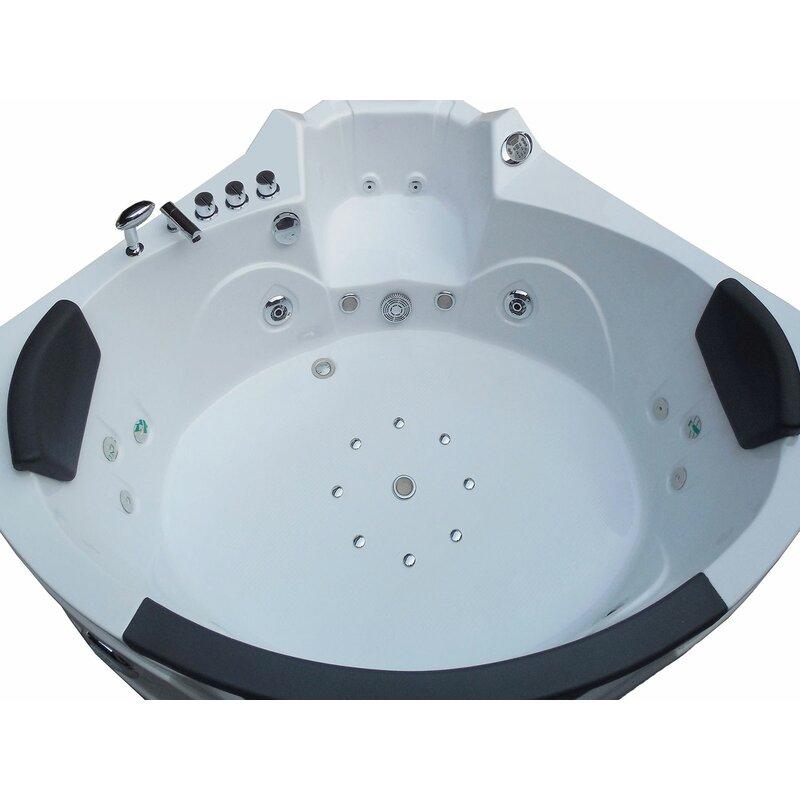 Simba USA Whirlpool Bathtub Corner Hydrotherapy 59\