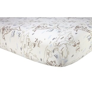 World map crib sheets wayfair world map fitted crib sheet gumiabroncs Images