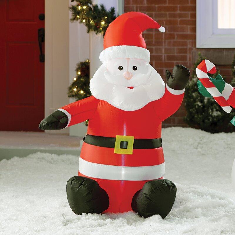 Superb Inflatable Santa Claus Decoration