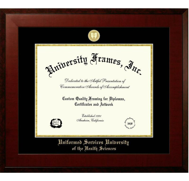 Diploma Frame Deals Uniformed Services University of the Health ...