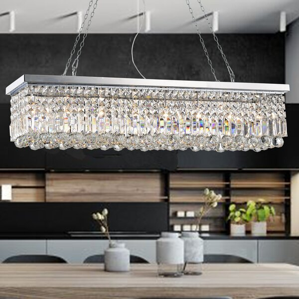 Rectangular Chandelier Fixture