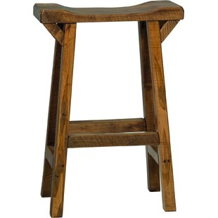 Sussex Western Twist Saddle Stool - Provincial Stain