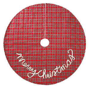 tartan plaid christmas tree skirt - Christmas Tree Skirts