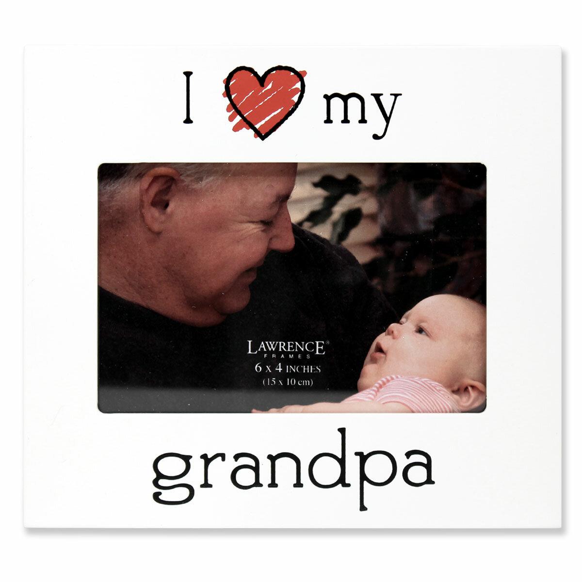 Zoomie Kids Gautreau I Love My Grandpa Picture Frame | Wayfair