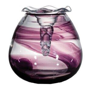 Nastro Viola Glass Vase