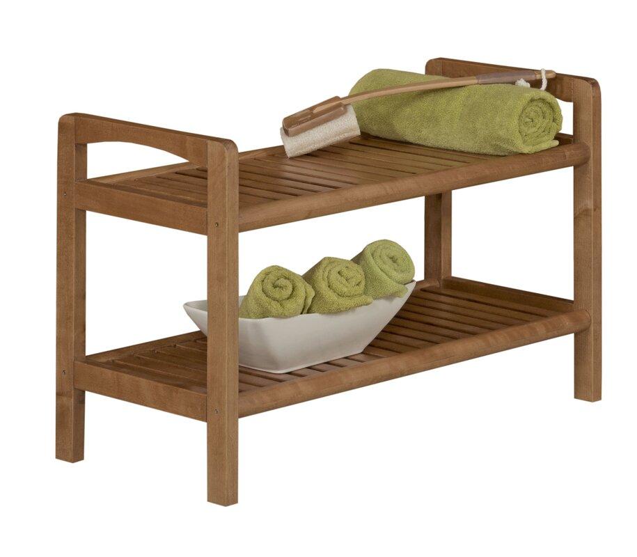 abingdon solid wood storage bench reviews birch lane. Black Bedroom Furniture Sets. Home Design Ideas