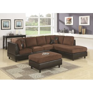 Grey Sail Sectional by Red..