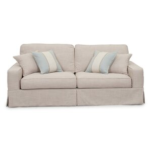 Rosecliff Heights Glenhill Box Cushion Sofa Slipcover