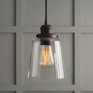 Phillips 1-Light Mini Pendant & Mini Pendants Youu0027ll Love | Wayfair azcodes.com