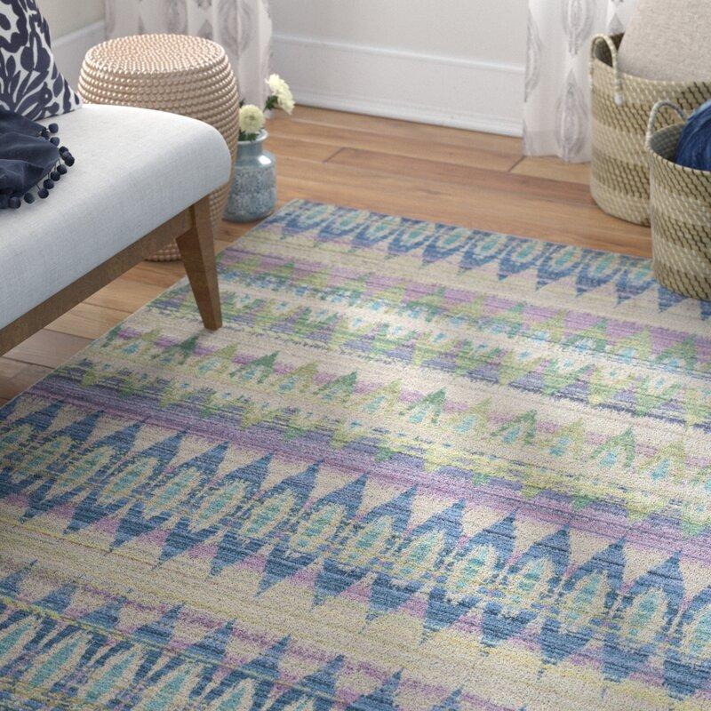 Mistana Doline Blue Purple Green Area Rug Amp Reviews Wayfair