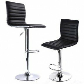 Chantry Adjustable Height Swivel Bar Stool (Set of 2)