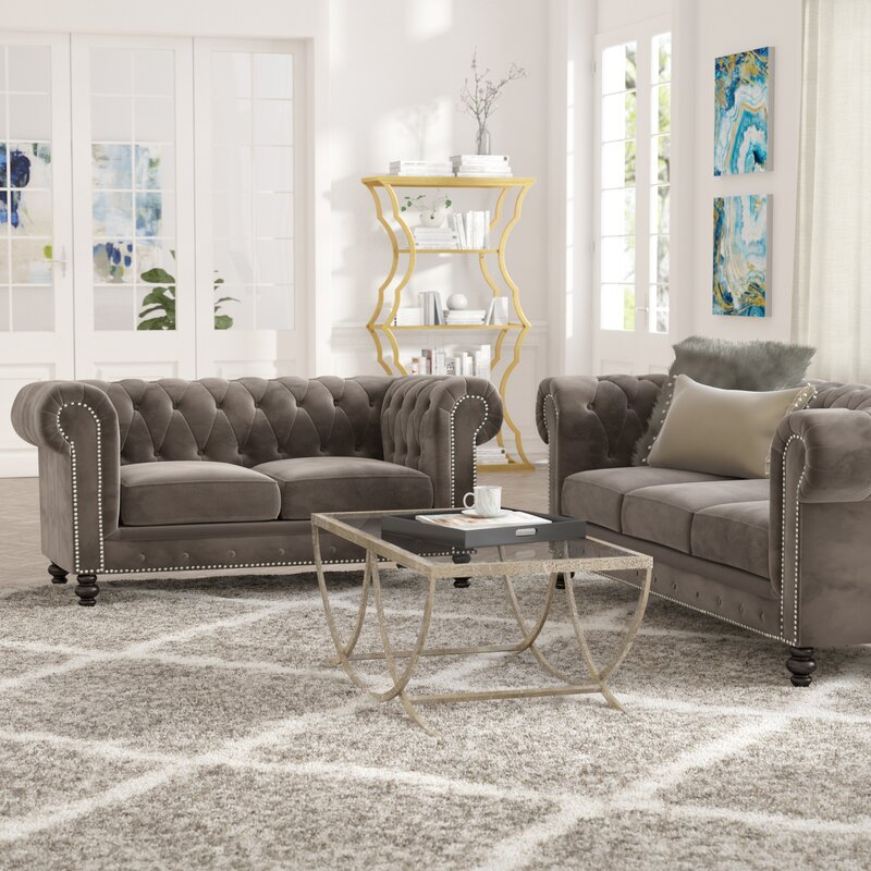 Charmant Brooklyn 2 Piece Living Room Set