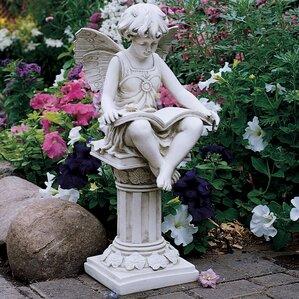 Superior The British Reading Fairy Statue