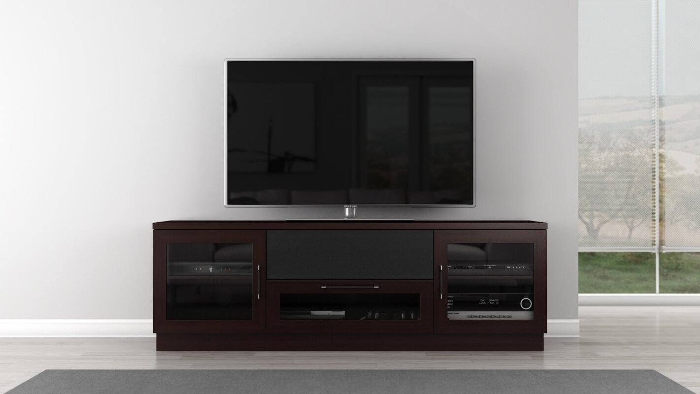 Furnitech Contemporary 70 Quot Tv Stand Amp Reviews Wayfair