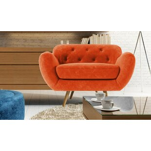 Burnt Orange Armchair Wayfair Co Uk