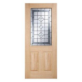 Awesome Wood Glazed External Door
