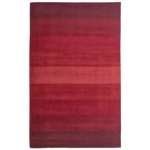 Degarmo Red Stripes Area Rug