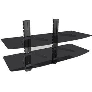 TygerClaw Double Layer DVD Shelf by Homevision Technology