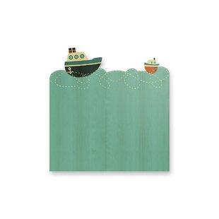 Cosme Boats Small Single Headboard by Zoomie Kids
