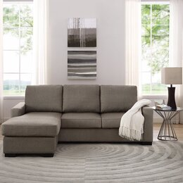 Modern contemporary living room furniture allmodern for Front room furniture sets