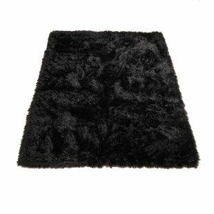 Animal Black Area Rug
