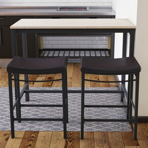 Bar Table And Chair pub tables & bistro sets you'll love | wayfair