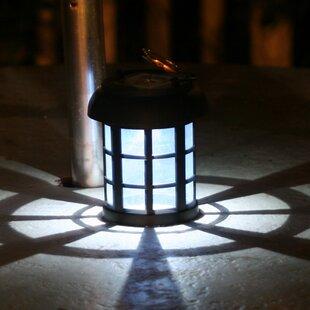 Solar Umbrella 1 Light Outdoor Hanging Lantern Pendant Set Of 2