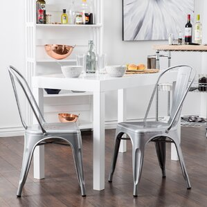 Industrial Kitchen Dining Chairs Youll Love Wayfair - Industrial dining room chairs