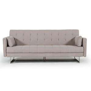 Faviola Beige Sofa by Orren Ellis