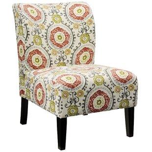 Bon Fontanne Floral Slipper Chair