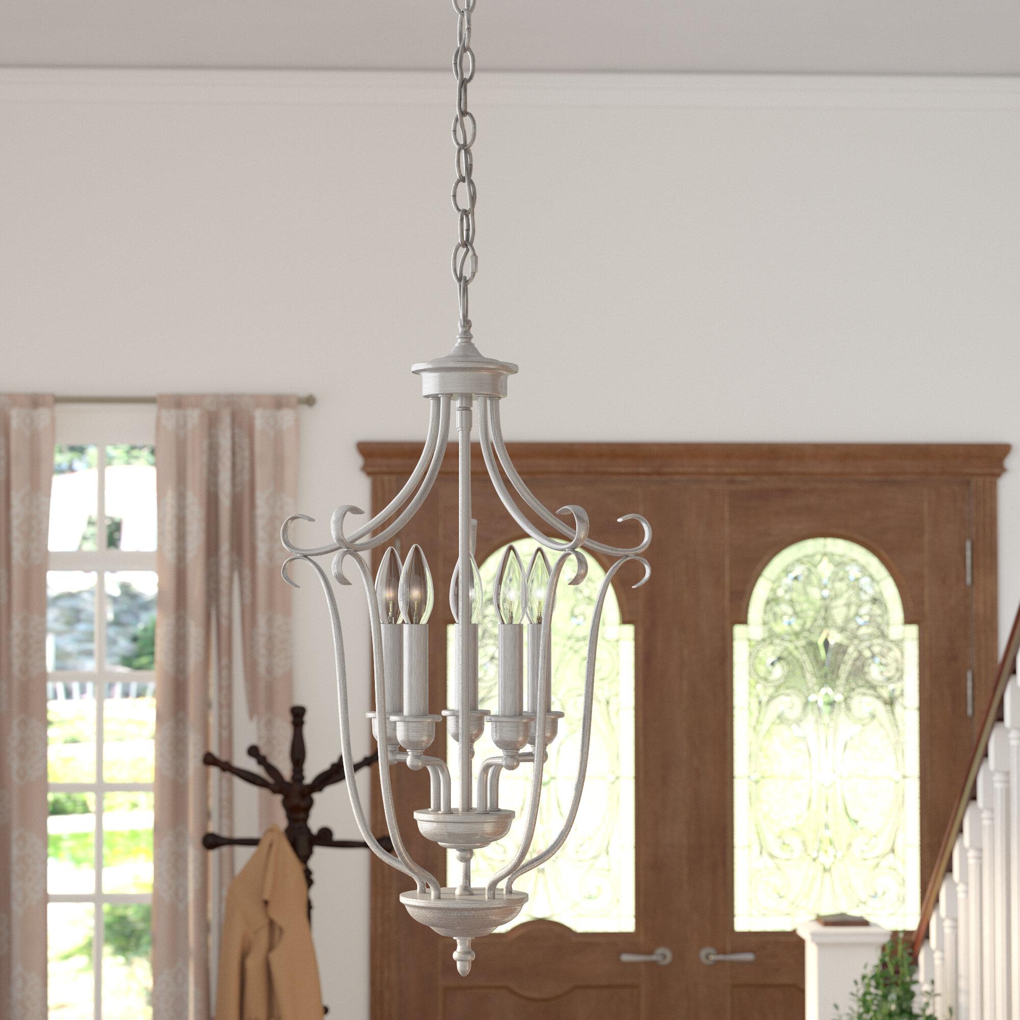 Lana 5 light foyer pendant