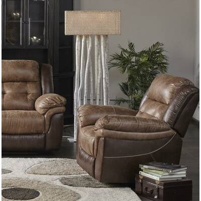 Hooker Furniture Winslow Leather Manual Recliner Reviews Wayfair