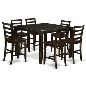 Tamarack 7 Piece Counter Height Dining Set by Red Barrel Studio
