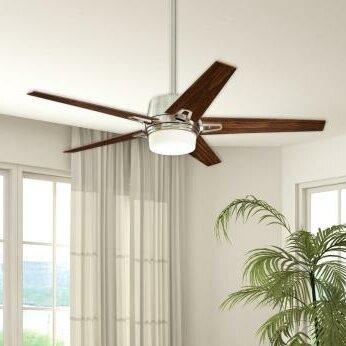 Westinghouse lighting 56 zephyr 5 blade ceiling fan with remote 56 zephyr 5 blade ceiling fan with remote aloadofball Gallery
