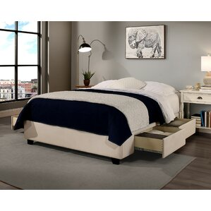 Premium Upholstered Storage Platform Bed by Republic Design House