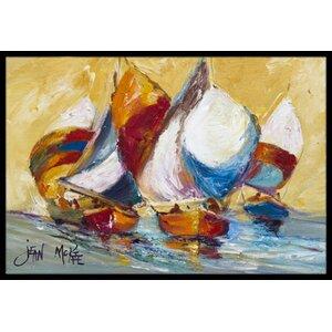 Boat Race Doormat