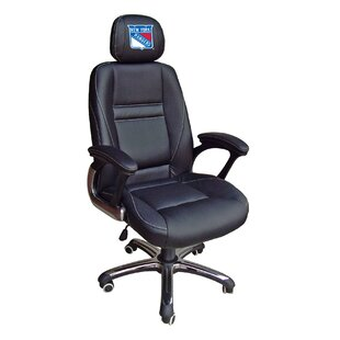 NHL Leather Desk Chair