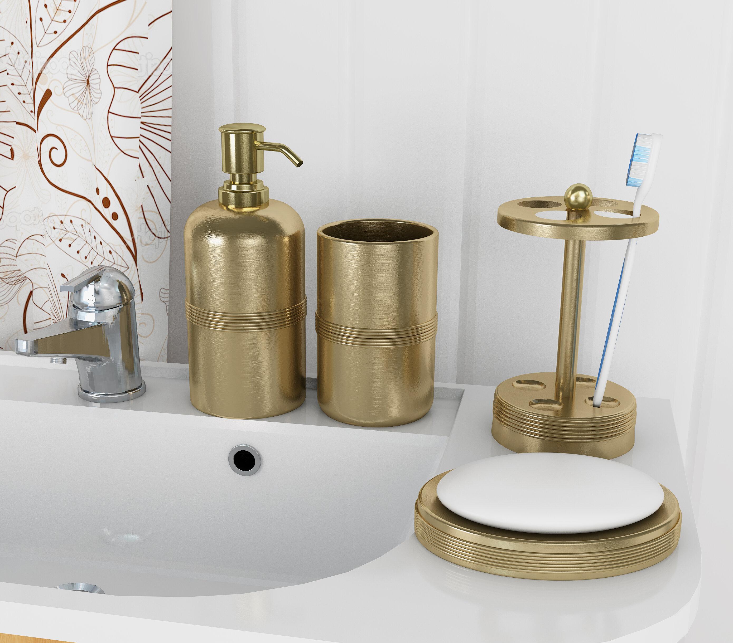 Wester 4 Piece Bathroom Accessory Set & Reviews | Joss & Main