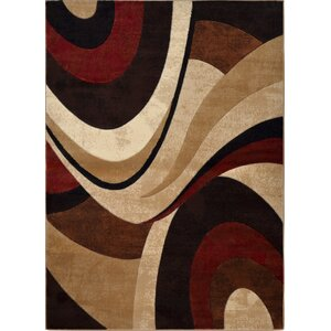 Ezekiel Brown/Beige Area Rug