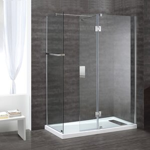 Bathroom Shower Panels shower stalls & enclosures you'll love | wayfair