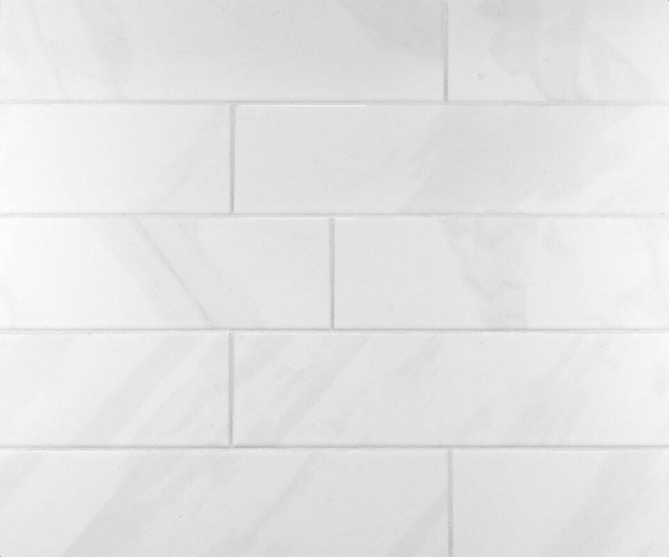 Mulia Tile Classic 4 Quot X 16 Quot Ceramic Subway Tile In Bright