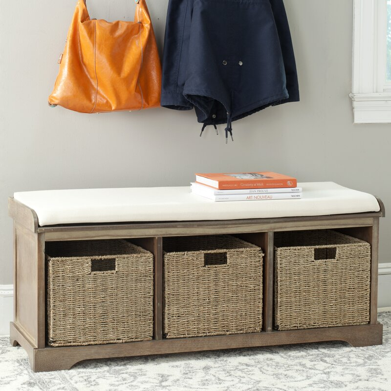 Seminole Wood Storage Bench