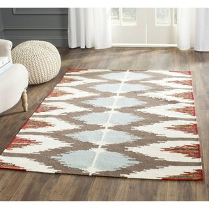 Dhurries Cotton Area Rug