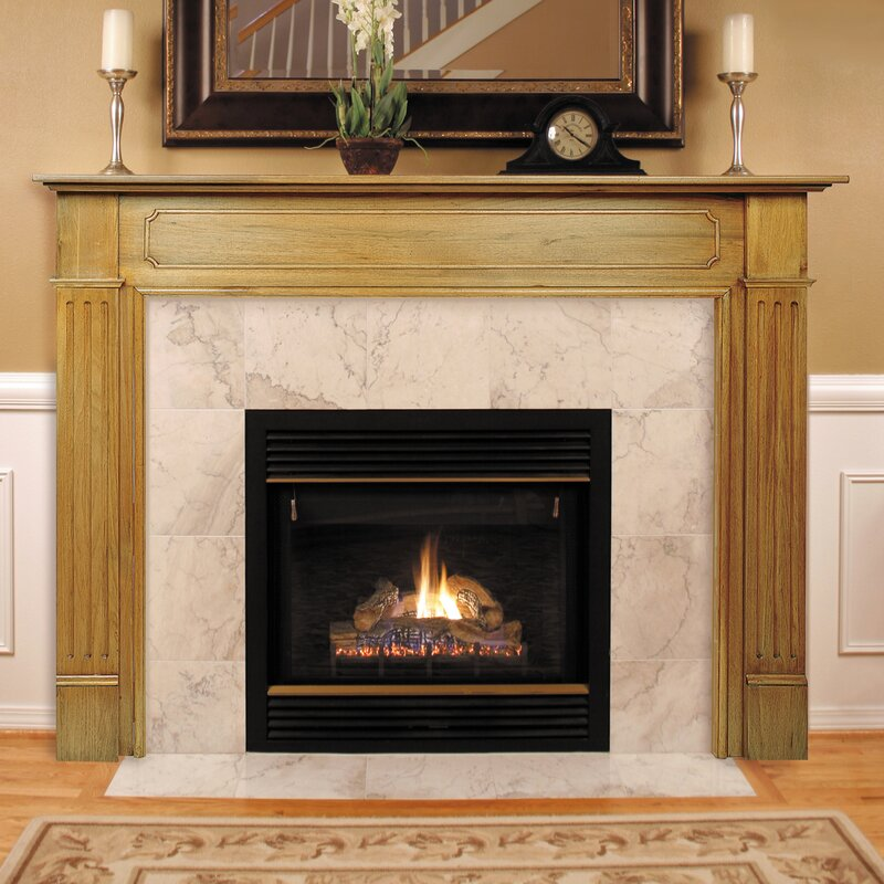 Fireplace Surround Dimensions Part - 41: The Williamsburg Fireplace Mantel Surround