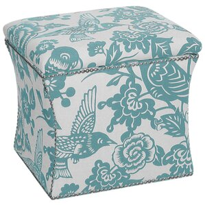Scout Storage Ottoman by Skyline Furniture